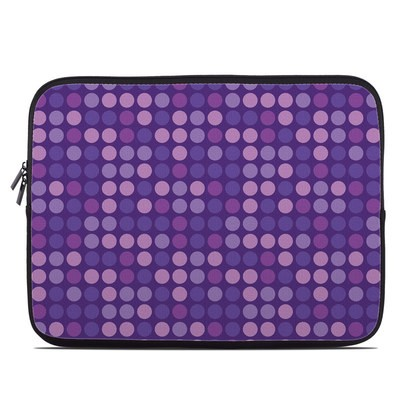 Laptop Sleeve - Big Dots Purple