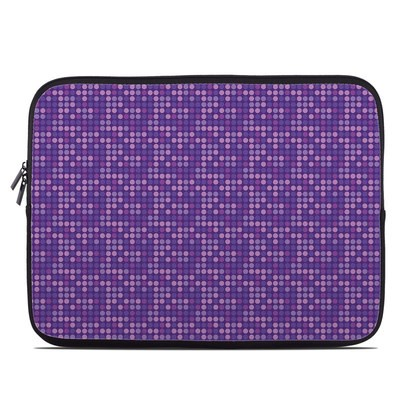 Laptop Sleeve - Dots Purple