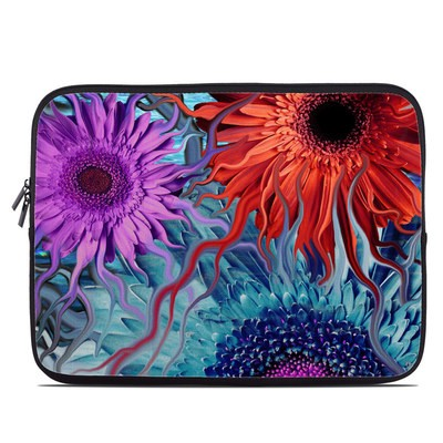 Laptop Sleeve - Deep Water Daisy Dance