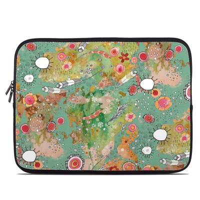 Laptop Sleeve - Feathers Flowers Showers