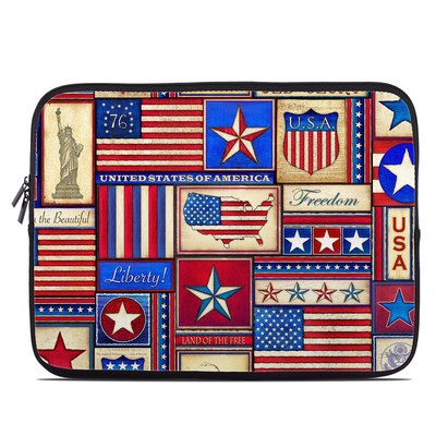 Laptop Sleeve - Flag Patchwork