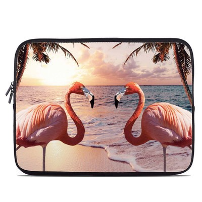 Laptop Sleeve - Flamingo Palm