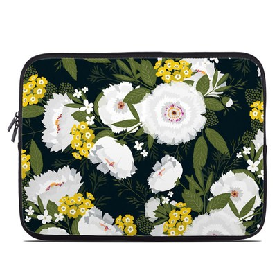 Laptop Sleeve - Fleurette Night