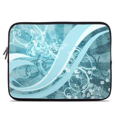 Laptop Sleeve - Flores Agua
