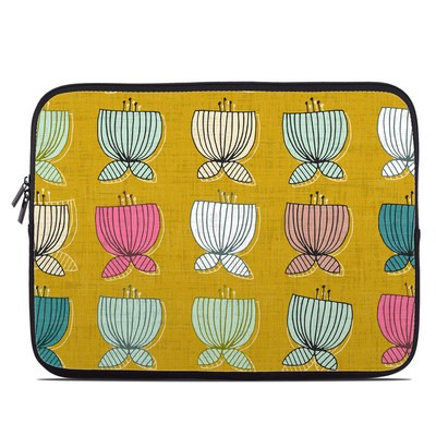 Laptop Sleeve - Flower Cups