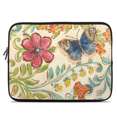 Laptop Sleeve - Garden Scroll