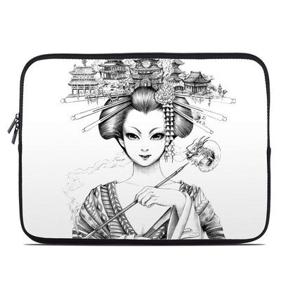 Laptop Sleeve - Geisha Sketch