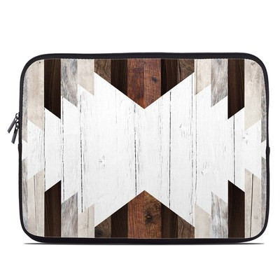 Laptop Sleeve - Geo Wood