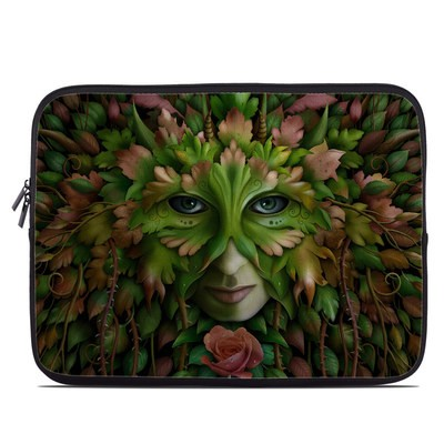 Laptop Sleeve - Green Woman
