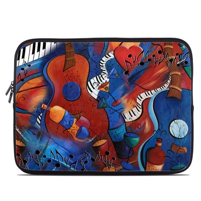Laptop Sleeve - Guitar Music