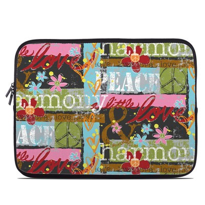 Laptop Sleeve - Harmony and Love