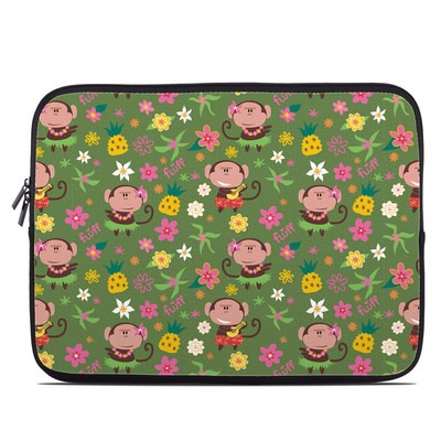 Laptop Sleeve - Hula Monkeys