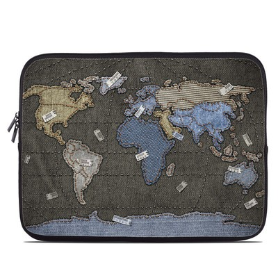 Laptop Sleeve - Jean Map
