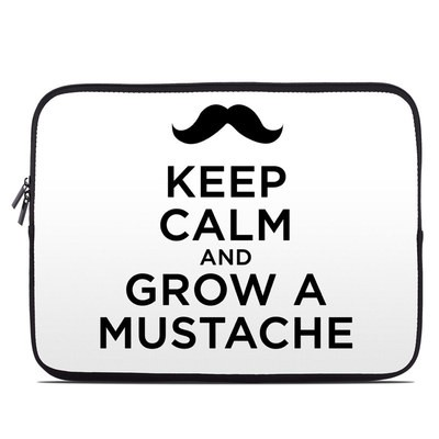 Laptop Sleeve - Keep Calm - Mustache