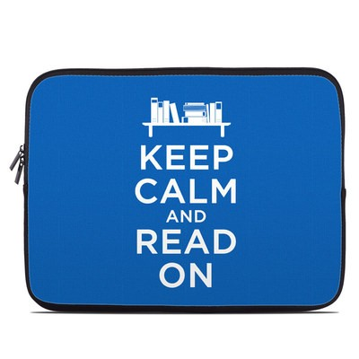 Laptop Sleeve - Keep Calm - Read