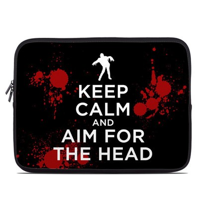 Laptop Sleeve - Keep Calm - Zombie