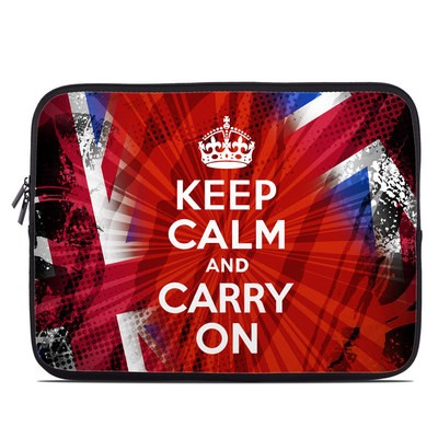 Laptop Sleeve - Keep Calm - Burst