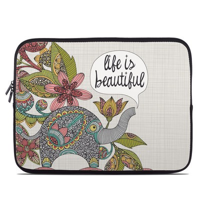 Laptop Sleeve - Life is Beautiful