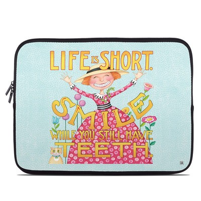 Laptop Sleeve - Life is Short
