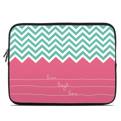 Laptop Sleeve - Live Laugh Love