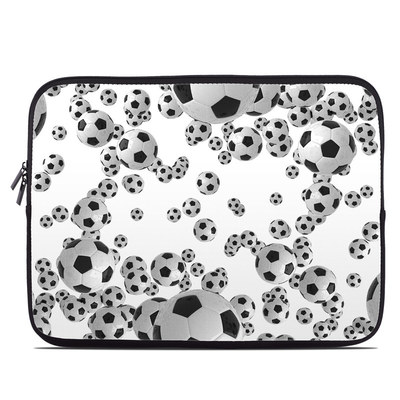Laptop Sleeve - Lots of Soccer Balls