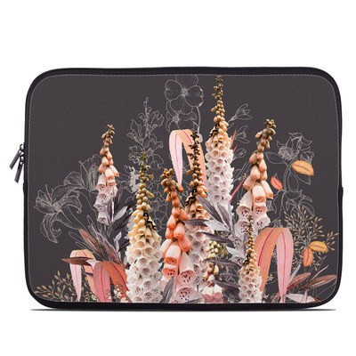Laptop Sleeve - Lupines Chocolate