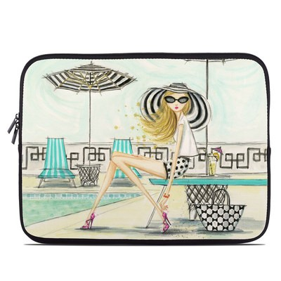 Laptop Sleeve - Luxe Retreat Poolside