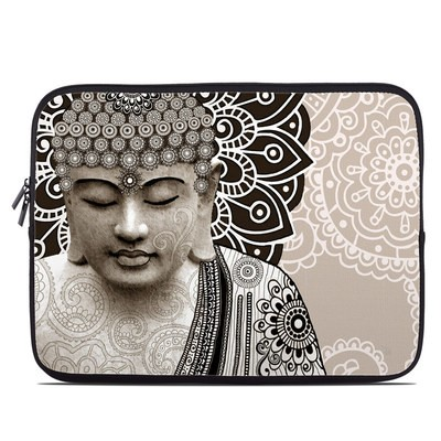Laptop Sleeve - Meditation Mehndi