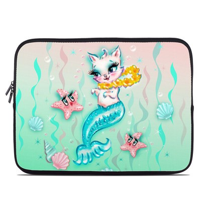 Laptop Sleeve - Merkitten with Lei