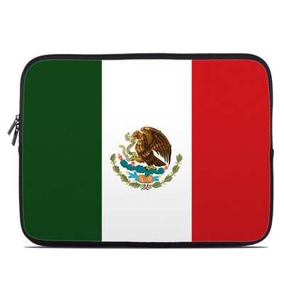 Laptop Sleeve - Mexican Flag