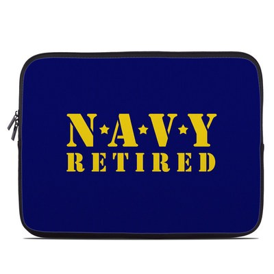 Laptop Sleeve - Navy Retired
