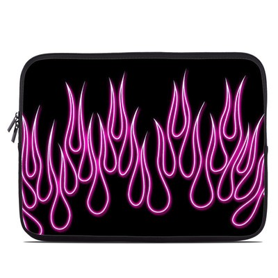 Laptop Sleeve - Pink Neon Flames