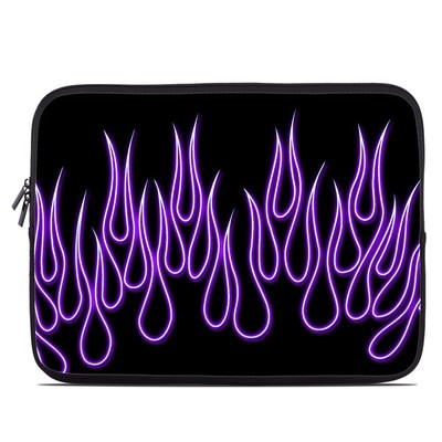 Laptop Sleeve - Purple Neon Flames