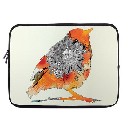 Laptop Sleeve - Orange Bird