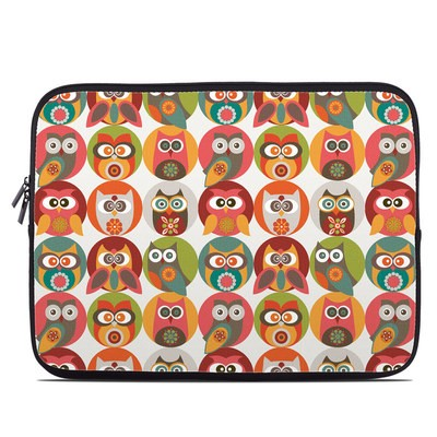Laptop Sleeve - Owls Family