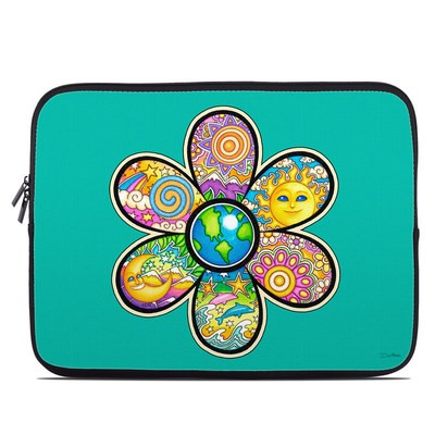 Laptop Sleeve - Peace Flower