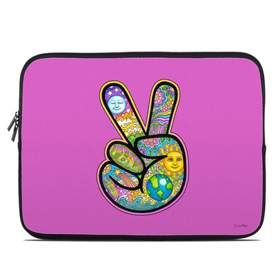Laptop Sleeve - Peace Hand