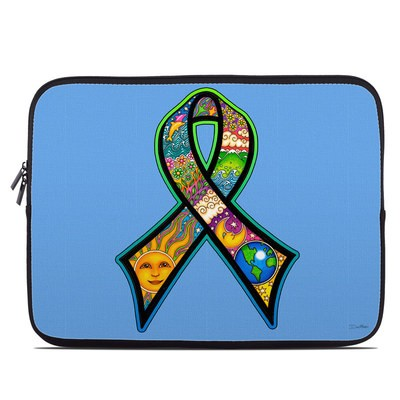 Laptop Sleeve - Peace Ribbon