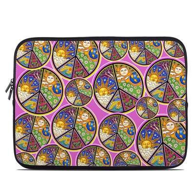 Laptop Sleeve - Peace Signs