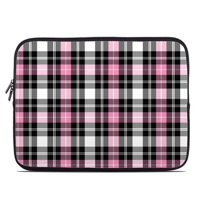 Laptop Sleeve - Pink Plaid