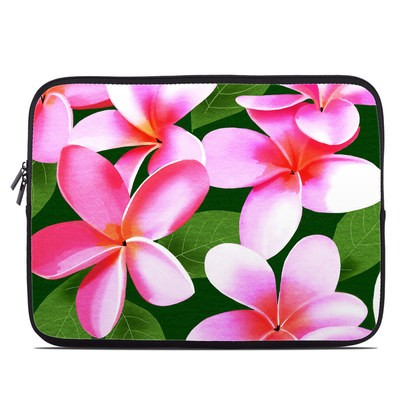Laptop Sleeve - Pink Plumerias
