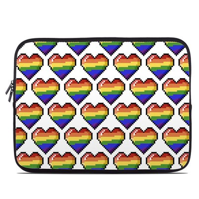 Laptop Sleeve - Pride Hearts