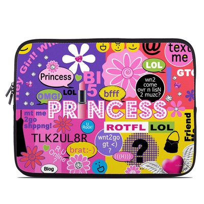 Laptop Sleeve - Princess Text Me