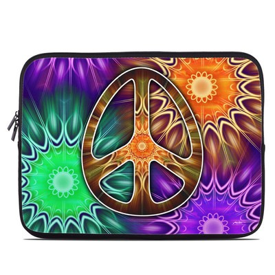 Laptop Sleeve - Peace Triptik