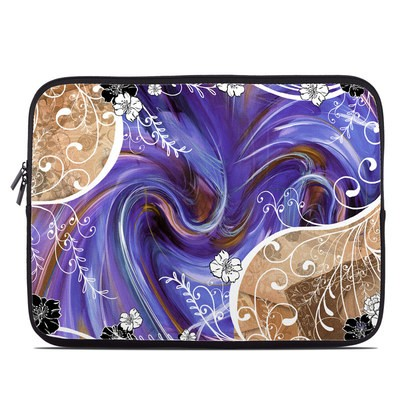 Laptop Sleeve - Purple Waves