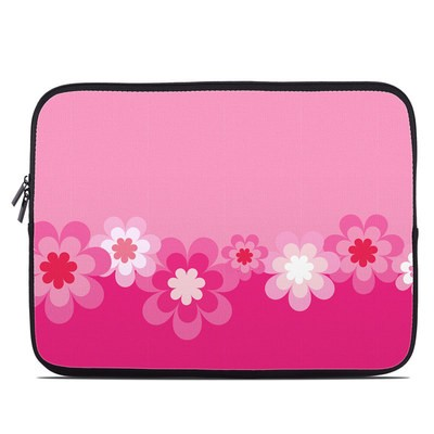 Laptop Sleeve - Retro Pink Flowers