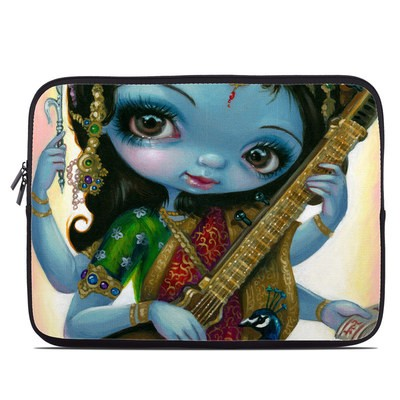Laptop Sleeve - Saraswati Playing