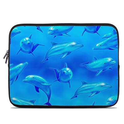 Laptop Sleeve - Swimming Dolphins