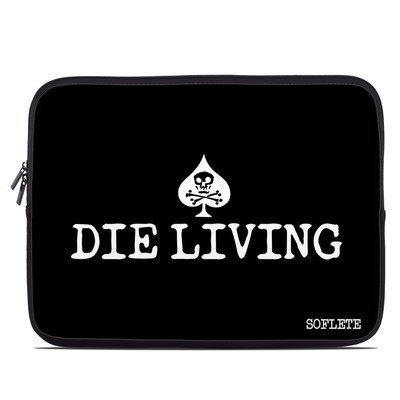 Laptop Sleeve - SOFLETE Die Living Black