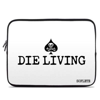 Laptop Sleeve - SOFLETE Die Living White